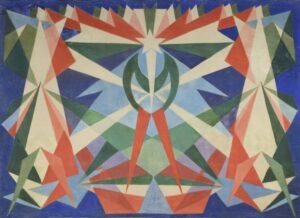 G. Balla, Genio Futurista, 1925