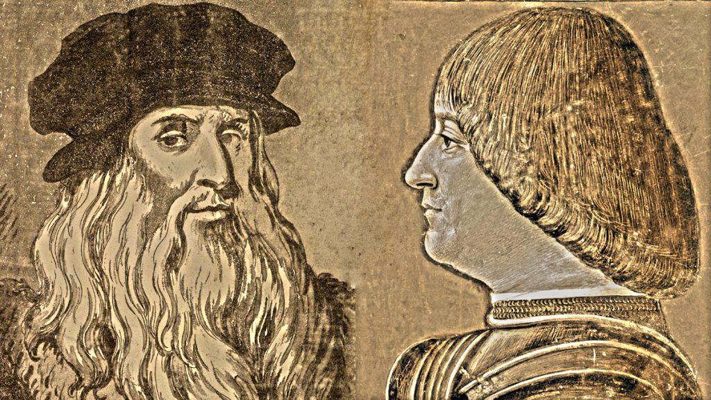 Leonardo Da Vinci e Ludovico Sforza detto il Moro